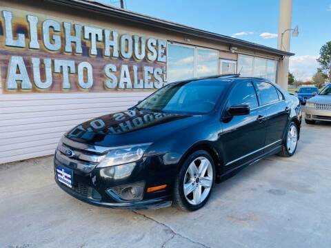 2012 Ford Fusion for sale at Lighthouse Auto Sales LLC in Grand Junction CO