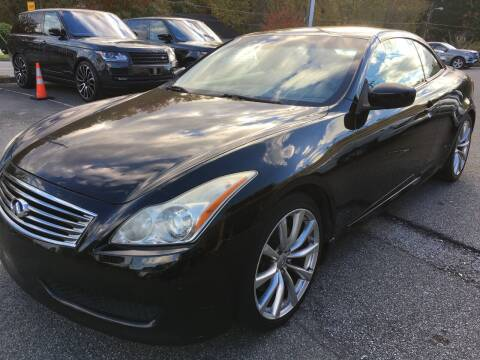 2009 Infiniti G37 Convertible for sale at Highlands Luxury Cars, Inc. in Marietta GA