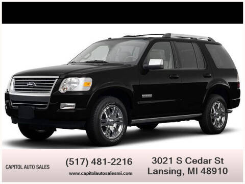 2008 Ford Explorer for sale at Capitol Auto Sales in Lansing MI