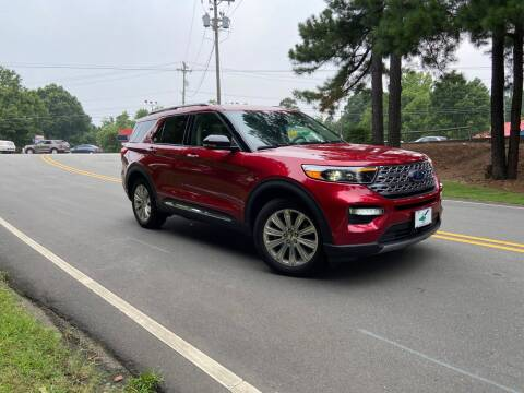 2020 Ford Explorer for sale at THE AUTO FINDERS in Durham NC