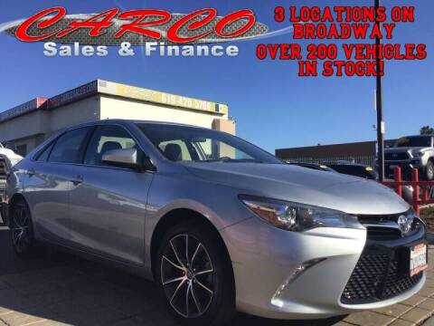 2017 Toyota Camry for sale at CARCO SALES & FINANCE #3 in Chula Vista CA