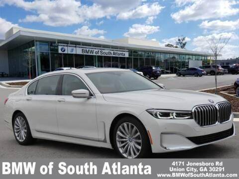 2021 BMW 7 Series for sale at Carol Benner @ BMW of South Atlanta in Union City GA