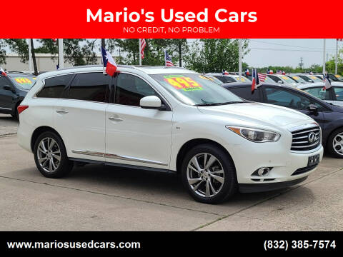 2015 Infiniti QX60 for sale at Mario's Used Cars in Houston TX