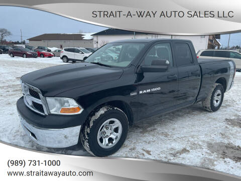 2011 RAM Ram Pickup 1500 for sale at Strait-A-Way Auto Sales LLC in Gaylord MI