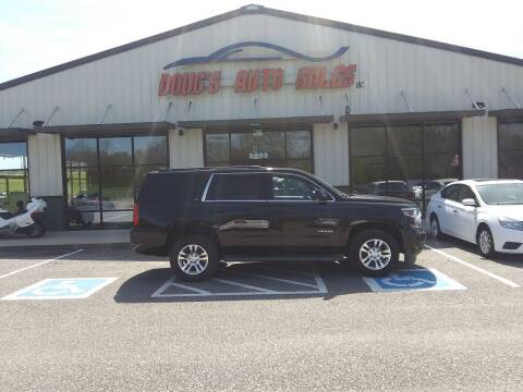 2015 Chevrolet Tahoe for sale at DOUG'S AUTO SALES INC in Pleasant View TN