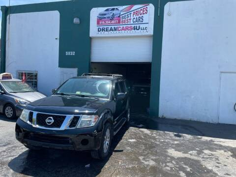 2010 Nissan Pathfinder for sale at Dream Cars 4 U in Hollywood FL