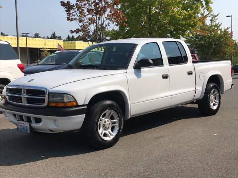 2004 Dodge Dakota for sale at GO AUTO BROKERS in Bellevue WA
