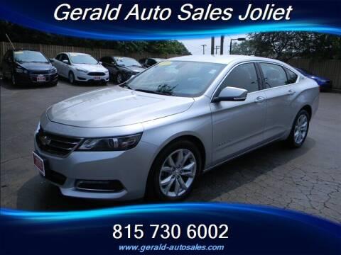 2018 Chevrolet Impala for sale at Gerald Auto Sales in Joliet IL