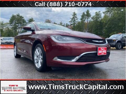 2015 Chrysler 200 for sale at TTC AUTO OUTLET/TIM'S TRUCK CAPITAL & AUTO SALES INC ANNEX in Epsom NH
