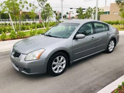 2007 Nissan Maxima for sale at LA Motors Miami in Miami FL