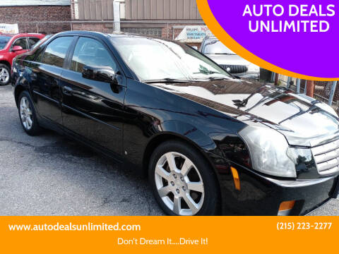 2006 Cadillac CTS for sale at AUTO DEALS UNLIMITED in Philadelphia PA