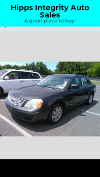 2007 Ford Five Hundred for sale at Hipps Integrity Auto Sales in Delran NJ