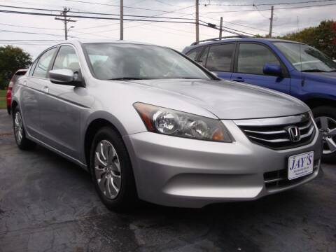 2011 Honda Accord for sale at Jay's Auto Sales Inc in Wadsworth OH