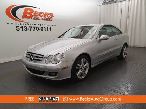 2009 Mercedes-Benz CLK for sale at Becks Auto Group in Mason OH