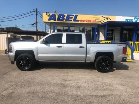 2014 Chevrolet Silverado 1500 for sale at Abel Motors, Inc. in Conroe TX
