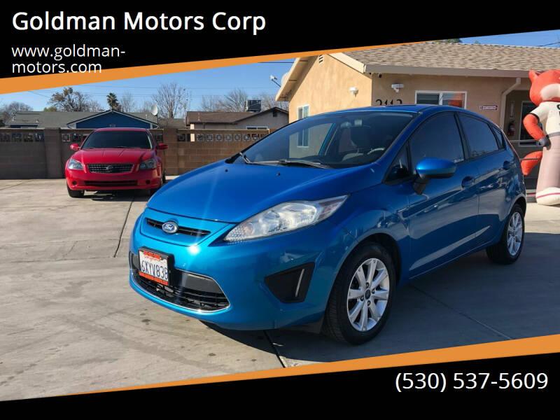 2012 Ford Fiesta for sale at Goldman Motors Corp in Stockton CA