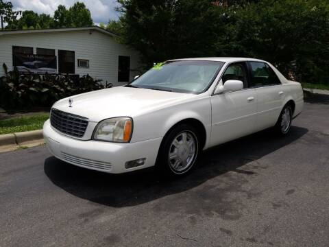 2005 Cadillac DeVille for sale at TR MOTORS in Gastonia NC