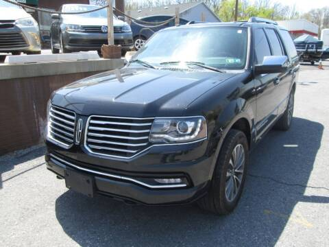2015 Lincoln Navigator for sale at WORKMAN AUTO INC in Pleasant Gap PA