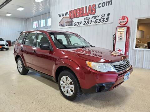 2009 Subaru Forester for sale at Kinsellas Auto Sales in Rochester MN