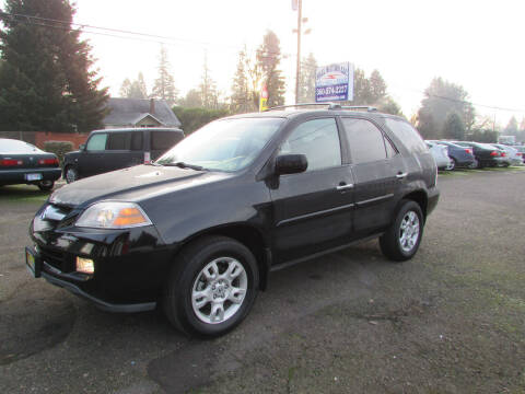 2006 Acura MDX for sale at Hall Motors LLC in Vancouver WA
