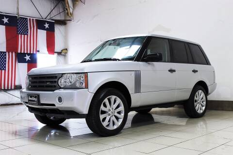 2006 Land Rover Range Rover for sale at ROADSTERS AUTO in Houston TX