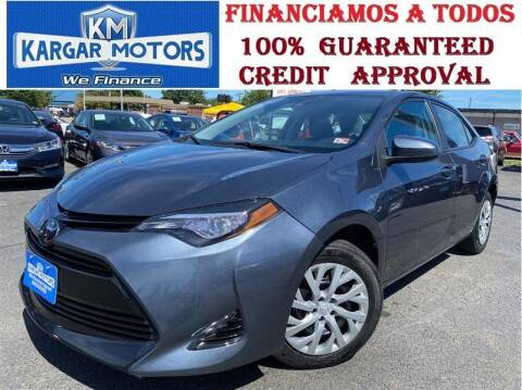 2018 Toyota Corolla for sale at Kargar Motors of Manassas in Manassas VA