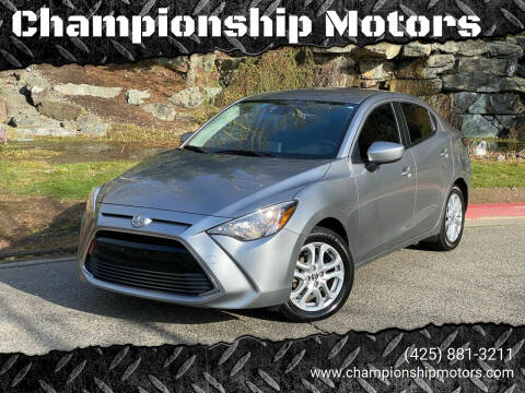 2016 Scion iA for sale at Championship Motors in Redmond WA
