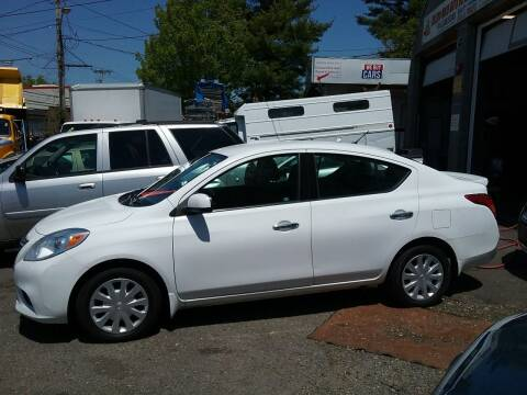 2014 Nissan Versa for sale at Drive Deleon in Yonkers NY