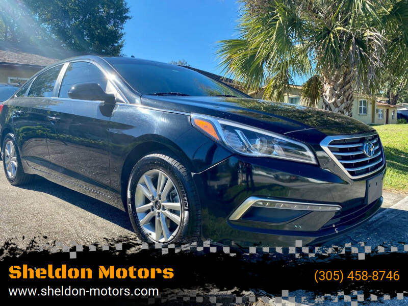 2015 Hyundai Sonata for sale at Sheldon Motors in Tampa FL