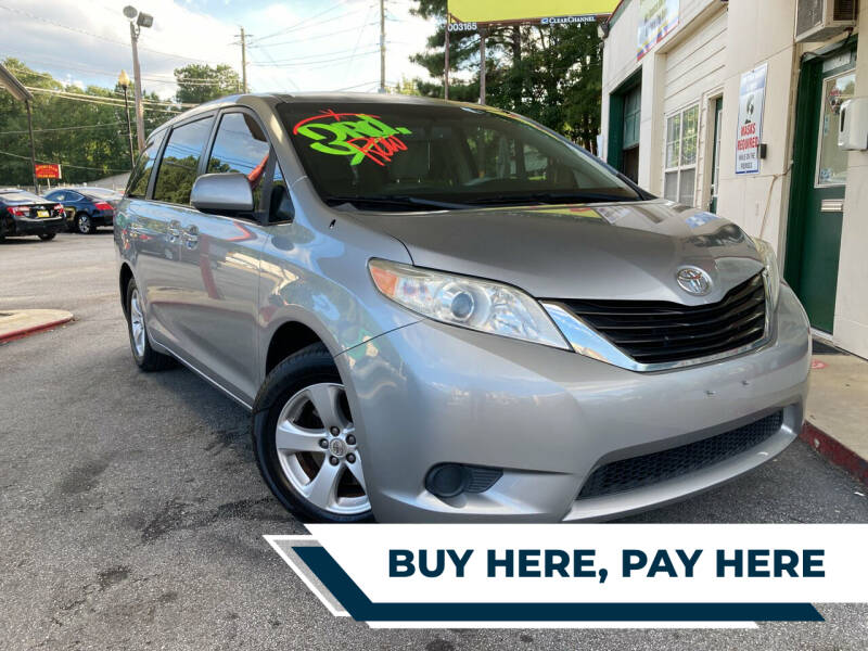2011 Toyota Sienna for sale at Automan Auto Sales, LLC in Norcross GA