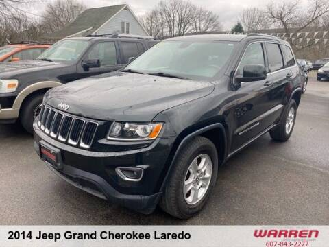2014 Jeep Grand Cherokee for sale at Warren Auto Sales in Oxford NY