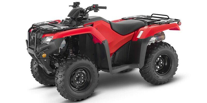 2021 Honda RANCHER TRX420FA6 for sale at Honda West in Dickinson ND