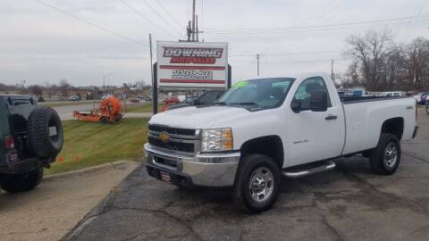 2012 Chevrolet Silverado 2500HD for sale at Downing Auto Sales in Des Moines IA
