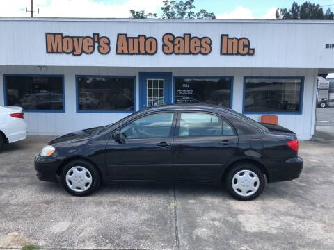 2007 Toyota Corolla for sale at Moye's Auto Sales Inc. in Leesburg FL