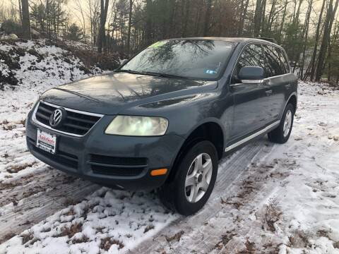 2004 Volkswagen Touareg for sale at Yaab Motor Sales in Plaistow NH
