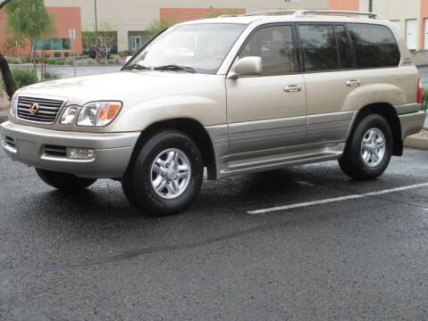 2000 Lexus LX 470 for sale at COPPER STATE MOTORSPORTS in Phoenix AZ
