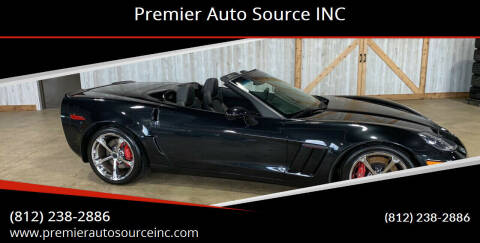2012 Chevrolet Corvette for sale at Premier Auto Source INC in Terre Haute IN