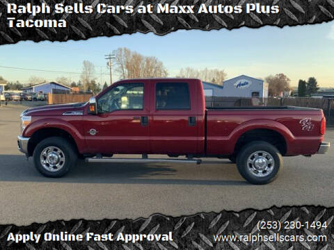 2013 Ford F-350 Super Duty for sale at Ralph Sells Cars at Maxx Autos Plus Tacoma in Tacoma WA