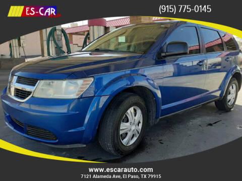 2009 Dodge Journey for sale at Escar Auto in El Paso TX