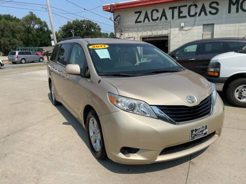 2011 Toyota Sienna for sale at Zacatecas Motors Corp in Des Moines IA