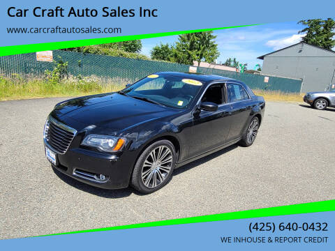 2012 Chrysler 300 for sale at Car Craft Auto Sales Inc in Lynnwood WA