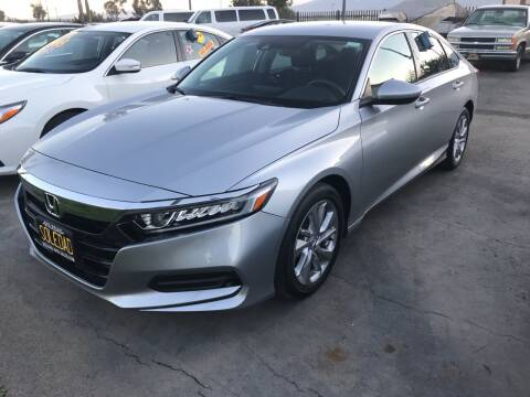 2018 Honda Accord for sale at Soledad Auto Sales in Soledad CA