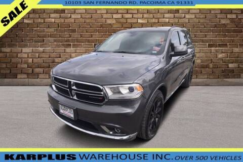 2017 Dodge Durango for sale at Karplus Warehouse in Pacoima CA