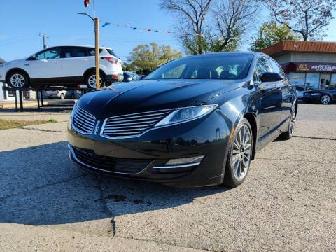 2016 Lincoln MKZ for sale at Lamarina Auto Sales in Dearborn Heights MI