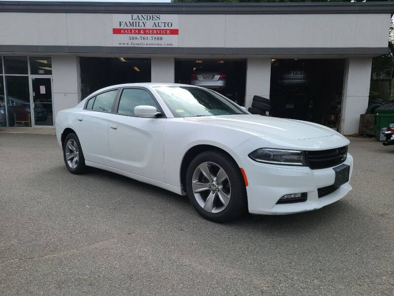 2015 Dodge Charger for sale at Landes Family Auto Sales in Attleboro MA