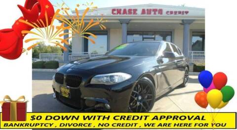 2012 BMW 5 Series for sale at Chase Auto Credit in Oklahoma City OK