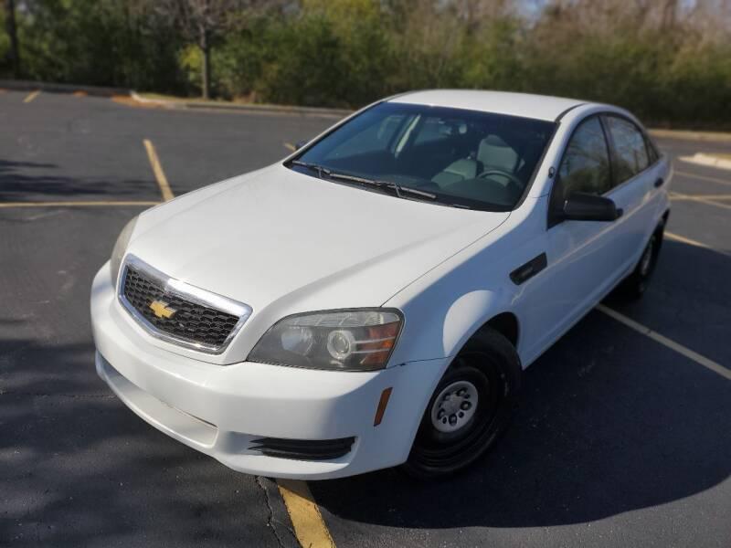 2012 Chevrolet Caprice for sale at Future Motors in Addison IL
