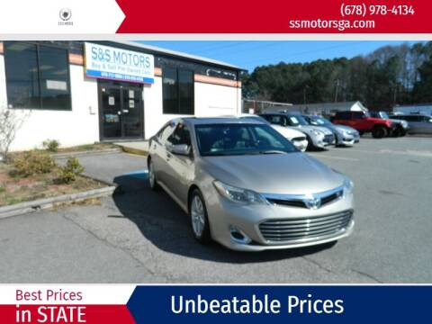 2013 Toyota Avalon for sale at S & S Motors in Marietta GA