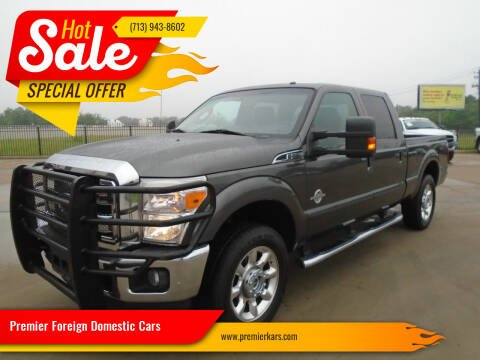 2016 Ford F-250 Super Duty for sale at Premier Foreign Domestic Cars in Houston TX