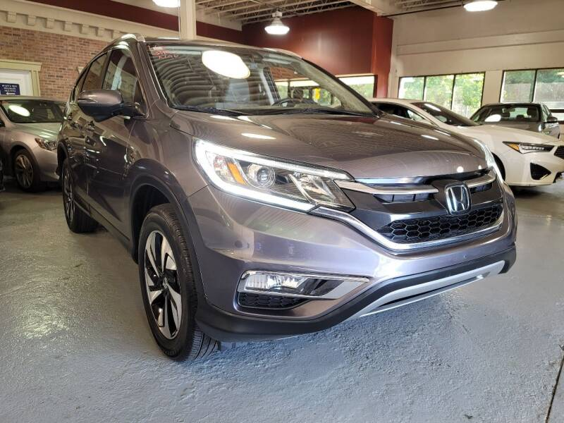 2015 Honda CR-V for sale at AW Auto & Truck Wholesalers  Inc. in Hasbrouck Heights NJ